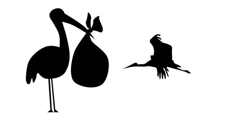 Hice mas clara la idea que nace con la cigüeña, por la relación que hay de este animal con los bebes. Antes tenia un huevo roto.