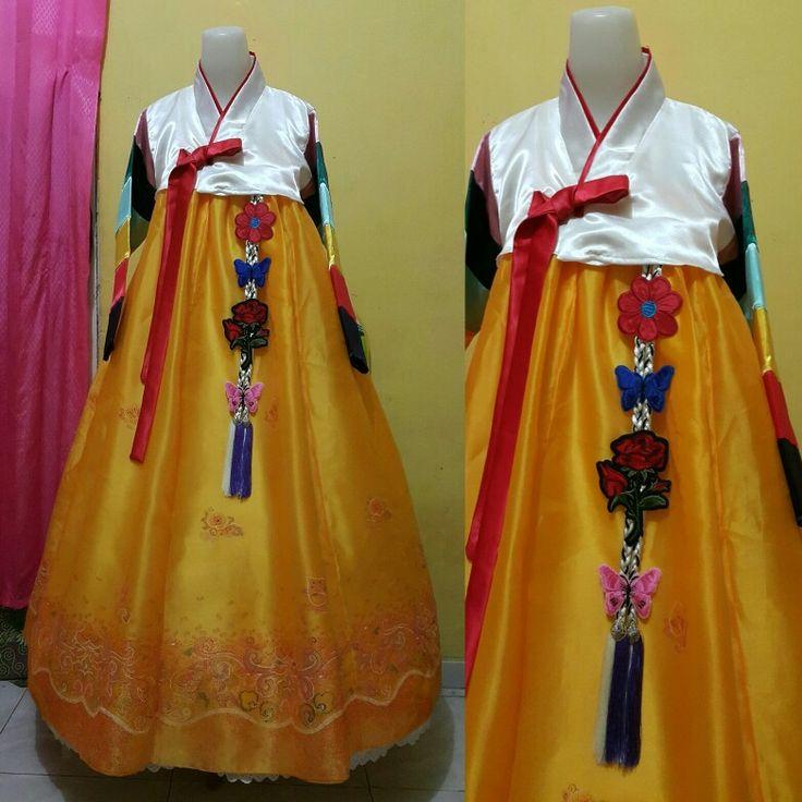 Ready stok dear Kitim dr bengkulu  Gaun hanbok ready Chat me :  Wa :h 085364359558 Line : hanbokhanbok IG : hanbokhanbok