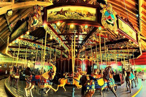 Port Dalhousie Carousel in Lakeside Park