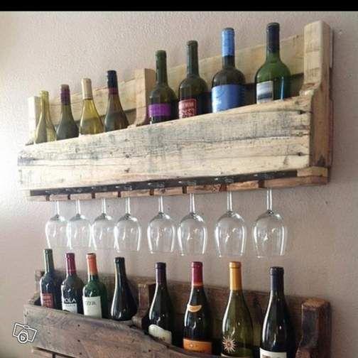 Étagère murale pour le vin et les verres Ameublement Bouches-du-Rhône - leboncoin.fr