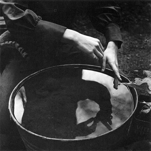 Imogen Cunningham. Eiko's Hands, 1971
