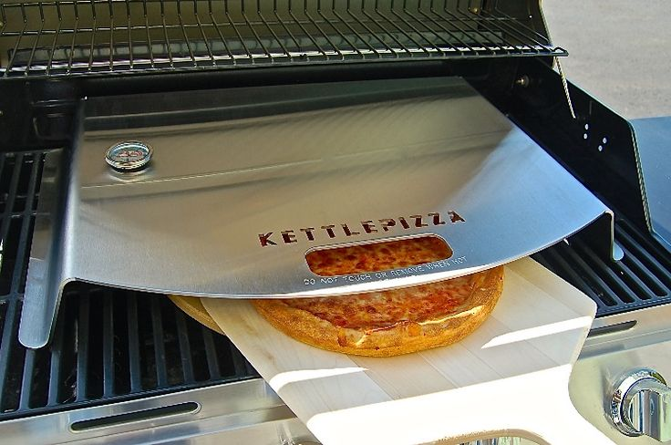 KettlePizza, the wood-fired pizza oven kit for charcoal kettle grills, introduces the KettlePizza Gas Pro, to turn gas grills into high heat pizza ovens. The gas grill model has been a long time coming, but should be a boon to pizza lovers who own propane grills -