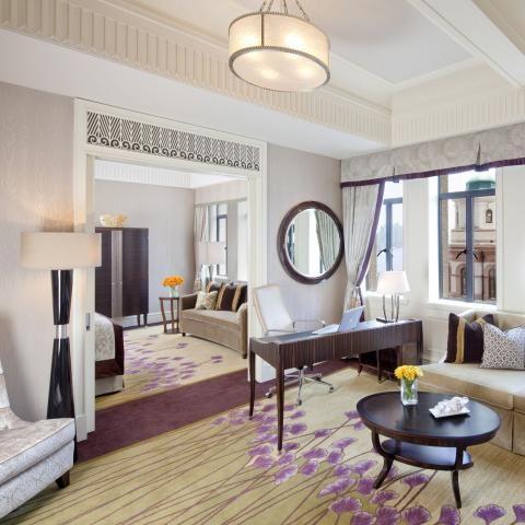 Fairmont Peace Hotel, Shanghai Love the rug!
