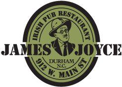 James Joyce Irish Pub & Restaurant - 2 miles from Duke Hospital #goodeats #durham #chapelhilldining