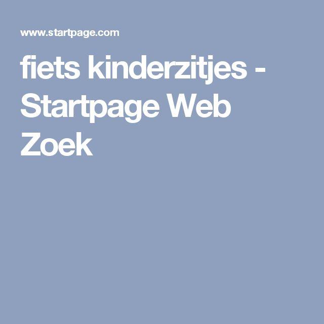 fiets kinderzitjes - Startpage Web Zoek
