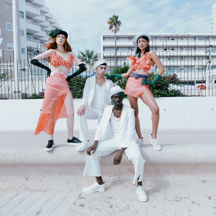 Magaluf! A collaboration between #Eytys and artist duo IB Kamara and Kristin-Lee Moolman.