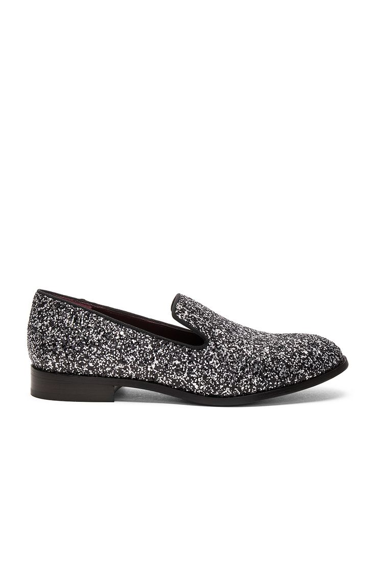 Marc Jacobs Zoe Loafer in Silver Multi