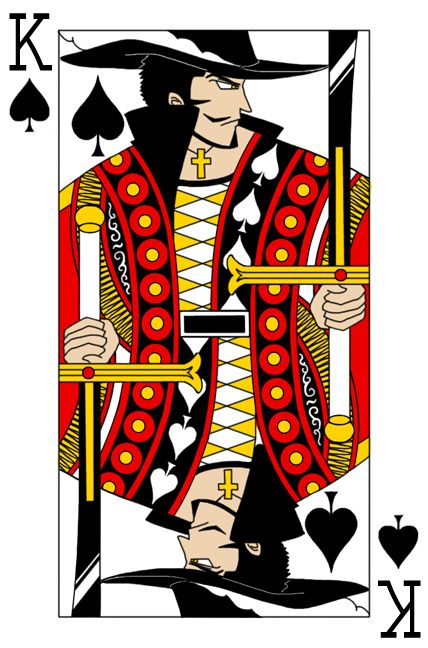 king of spades | Card Sharks | Pinterest