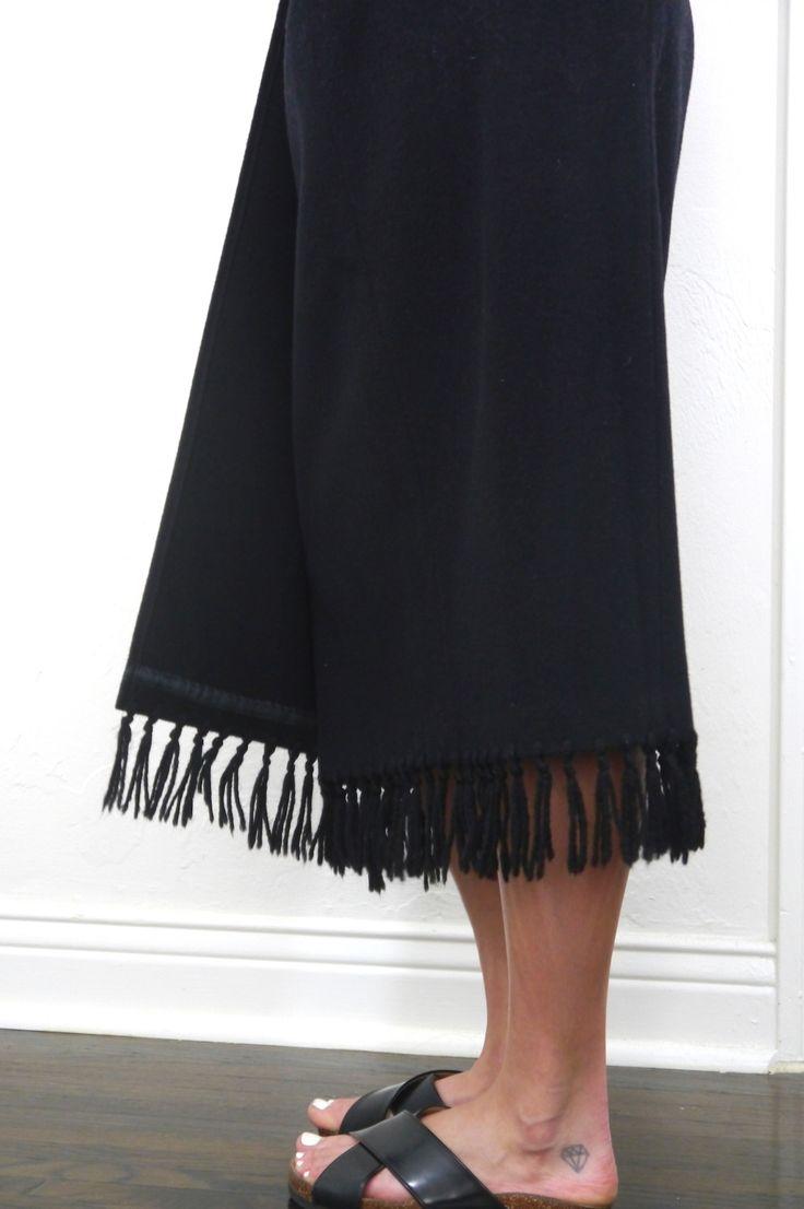 Fringed Blanket Skirt from ShopMika