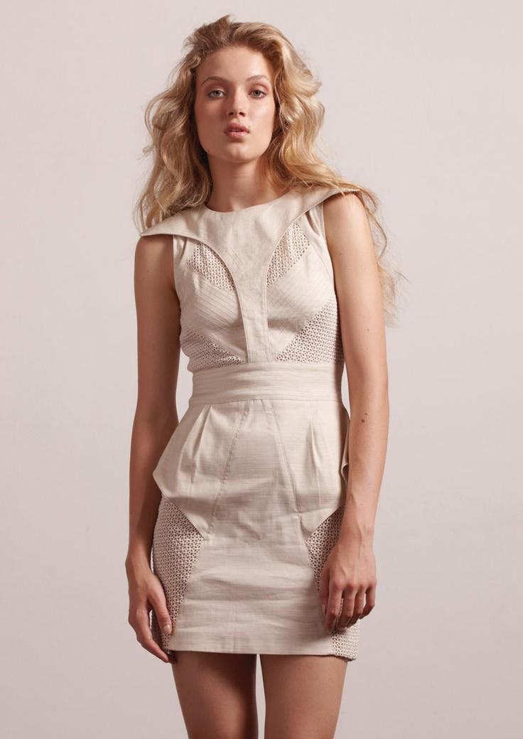 Linen Modern Craft Dress