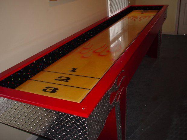Shuffleboard Table Outdoor Shuffleboardtable Designsdiy