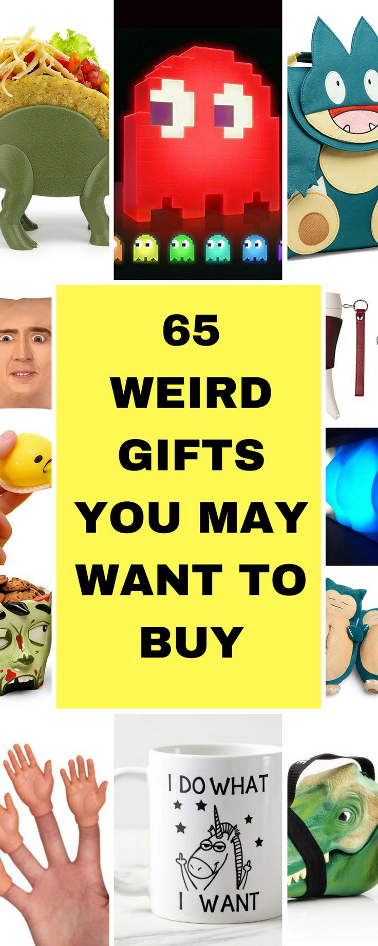 65 Weird Gifts You May Want To Buy Weird gifts, Geek