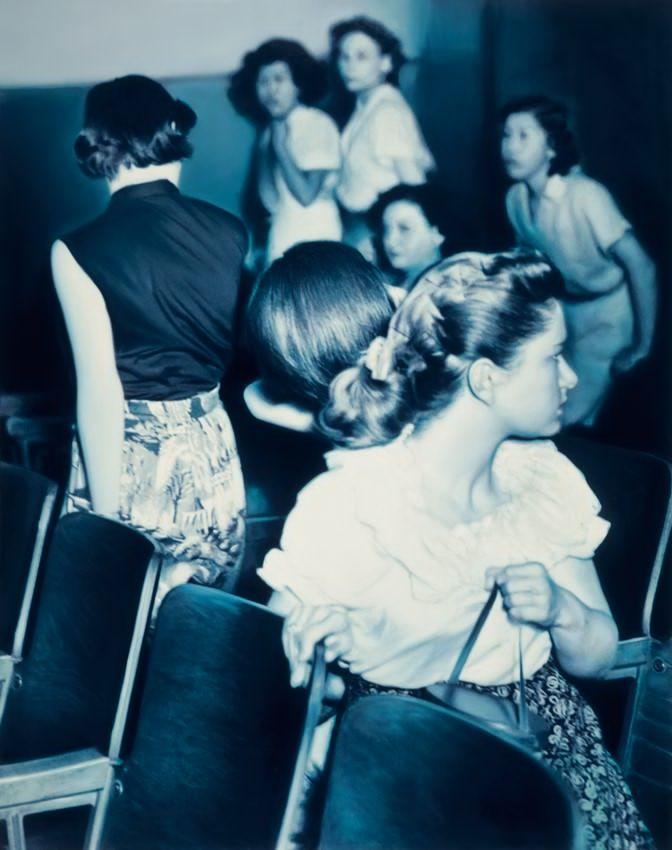 Gottfried Helnwein: Suspects (The Three Graces)