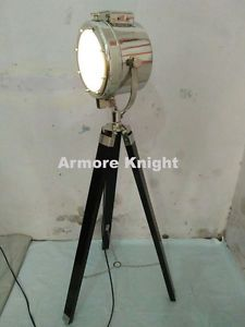 TELESCOPIC TRIPOD STUDIO THEATER SPOTLIGHT SEARCHLIGHT FLOOR LAMP LIGHT BARNDOOR