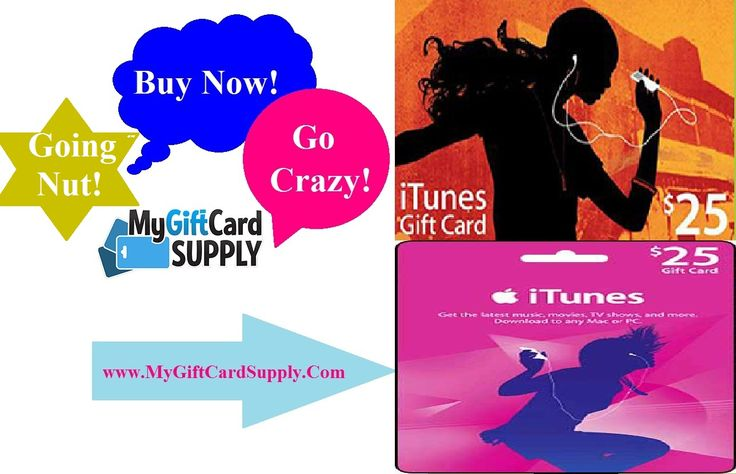 credit card itunes gift card