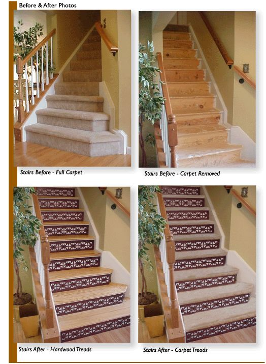 One Step Beyond Stair Applications For Decorating Stairs