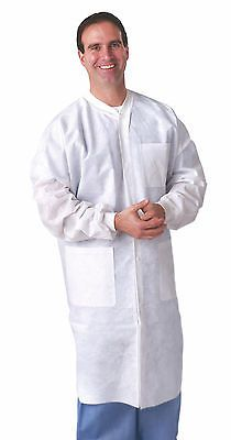 Lab Coats 105417: Medline Disposable Multi Layer Lab Coat, White (Size S - 3Xl) - Case Of 30 -> BUY IT NOW ONLY: $109.72 on eBay!