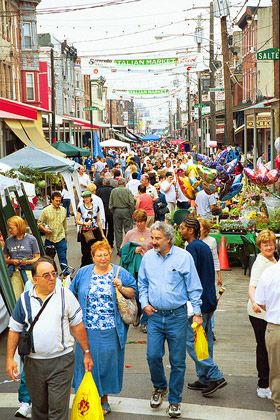 The 2012 9th Street Italian Market Festival in Philadelphia. Held on May 19th and 20th.