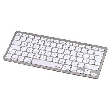 Hama Bluetooth-Tastatur KEY2GO X500 für Apple iPad