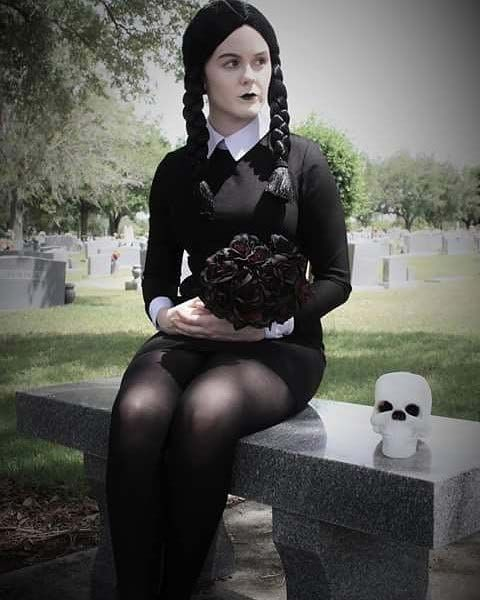 Wednesday Addams for Halloween Costume Ideas for Women