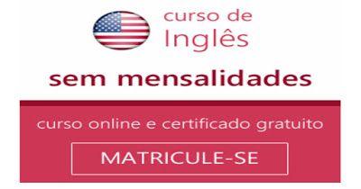JRF: Curso de Inglês Sem Mensalidades Curso Online de I...