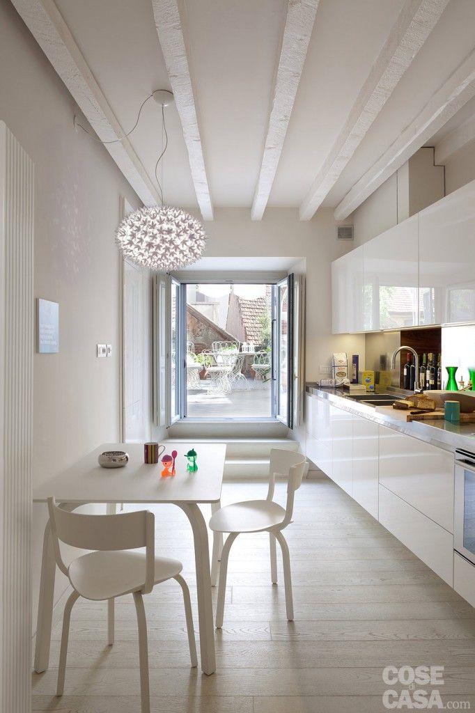 Casa bastianelli fiorentini cucina interior design for Foto di cucina e soggiorno a pianta aperta