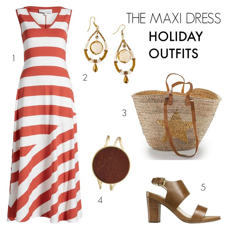 The Maxi dress | 3 party outfits to take you through the holiday season and beyond