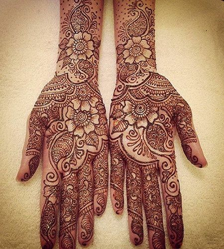 Arabic Mehndi Designs 2014 For Hands