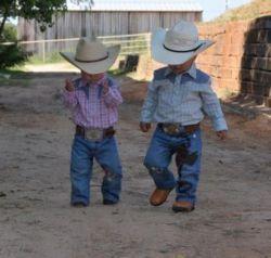 a couple of cowboys