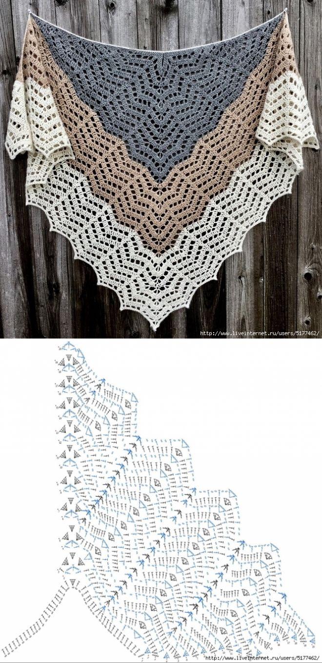 Saffron (Our Mrs. Reynolds) Shawl by Cirsium Crochet
