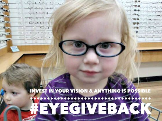 Invest In Your Vision & Anything Is Possible + Help Donate Glasses To A Child In Need #eyegiveback #ad