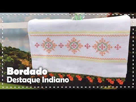 BORDADO INDIANO com Valquíria Campanelli - Programa Arte Brasil - 07/07/2017 - YouTube