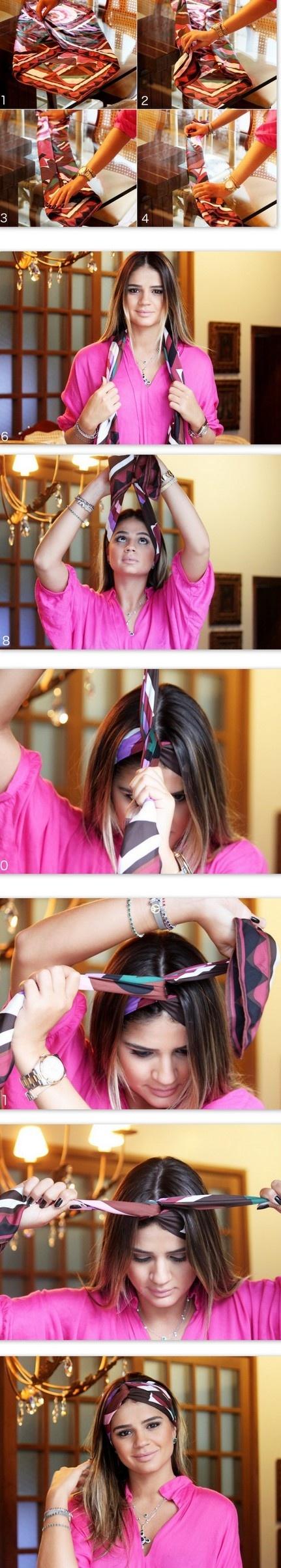DIY Turban headwrap