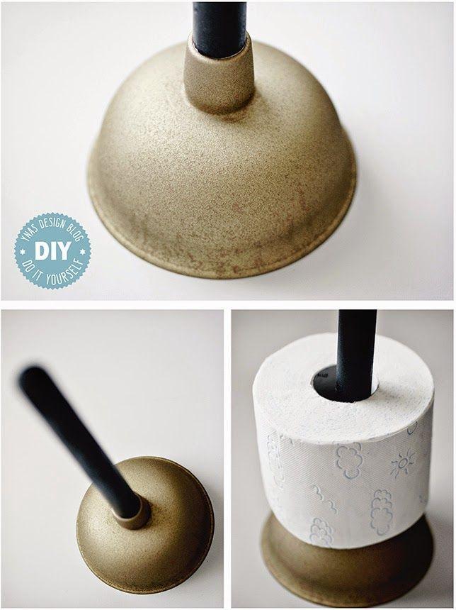 Ynas Design Blog, DIY Toilettenpapier-Halter, Pümpel