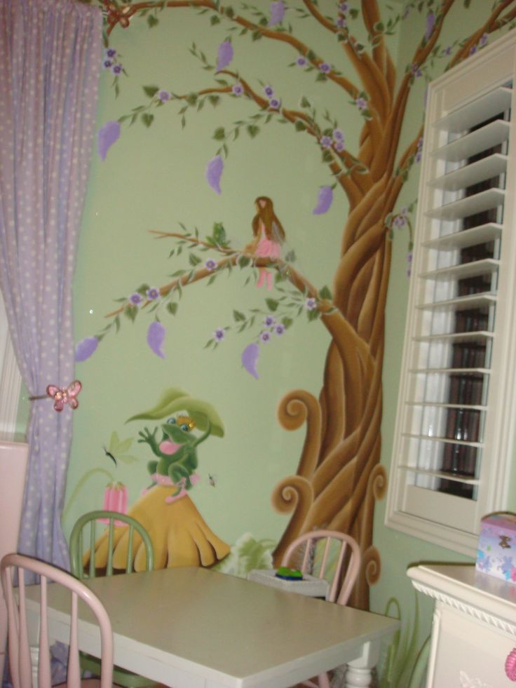 Baby Room Wallpaper Tree