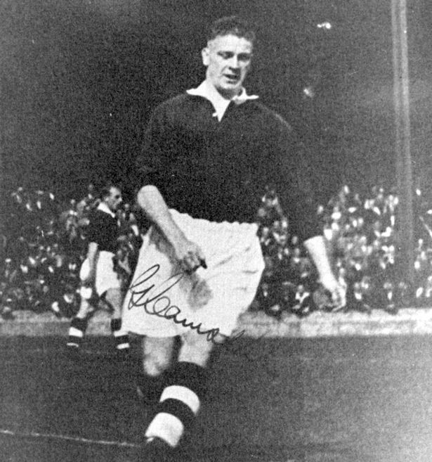 George Henry Camsell (27 November 1902 – 7 March 1966) was an English football player who scored 325 goals in 419 games for Middlesbrough, and 18 goals in 9 appearances for England. His 59 goals in one season (1926-27) for Middlesbrough was a Football League record at the time, and has only ever be bettered within the English game by Dixie Dean of Everton in 1927-28. He also holds the highest goals-to-games ratio for England of anyone who has played more than a single international.