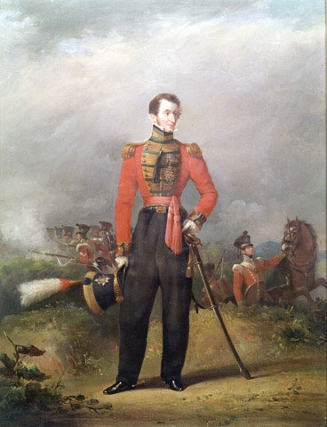 Lieutenant General Sir Thomas Bradford KCB, Colonel of the 94th Regiment of Foot, 1825 (c) The regiment was reformed in December 1823, in Glasgow, after having been disbanded in 1818. Formerly called the 94th Foot, The Scotch Brigade.