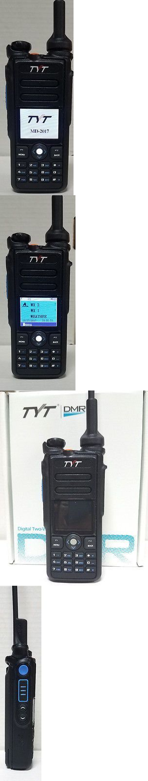 Ham Radio Transceivers: Tyt Md-2017 Dual Band Dmr Analog Ht W Usb Prog Cable And Software Free Ship -> BUY IT NOW ONLY: $219 on eBay!