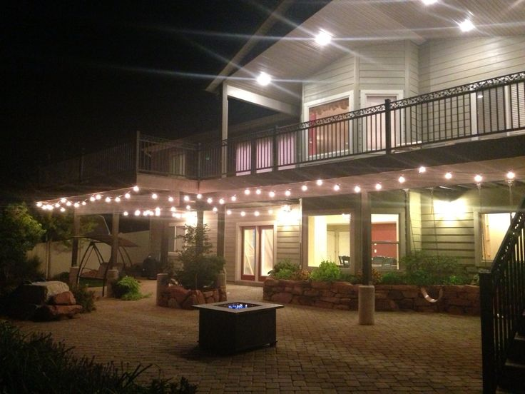 How To String Lights On Deck : 22 best deck ideas images on Pinterest