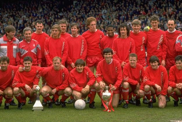 The Liverpool Division 1 title winners from 1988. What a great squad! #LFC