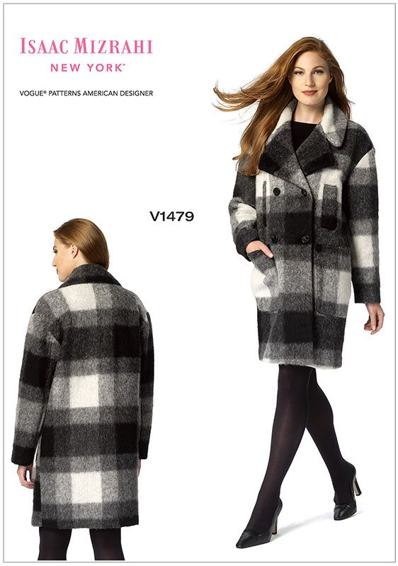 Misses Coat Vogue Sewing Pattern 1479.