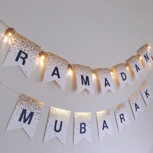 Ramadan Mubarak to all!!! may this Ramadan heal our hearts, cleanse our minds, and purify our souls! ⭐️ #ramadan2015 #ramadanmubarak #ramadandecor #diy