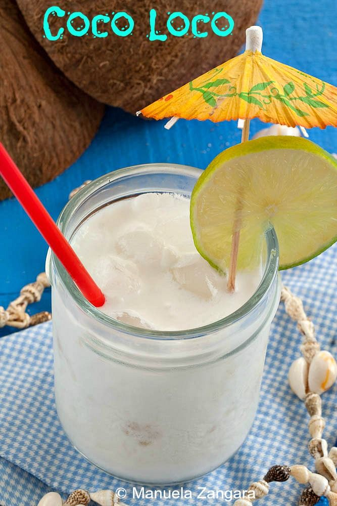 Coco Loco - a #coconut based #cocktail from the Caribbean!