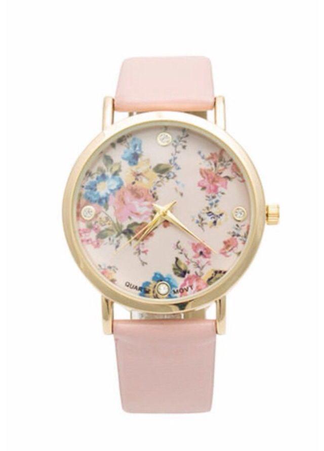 Floral watch.