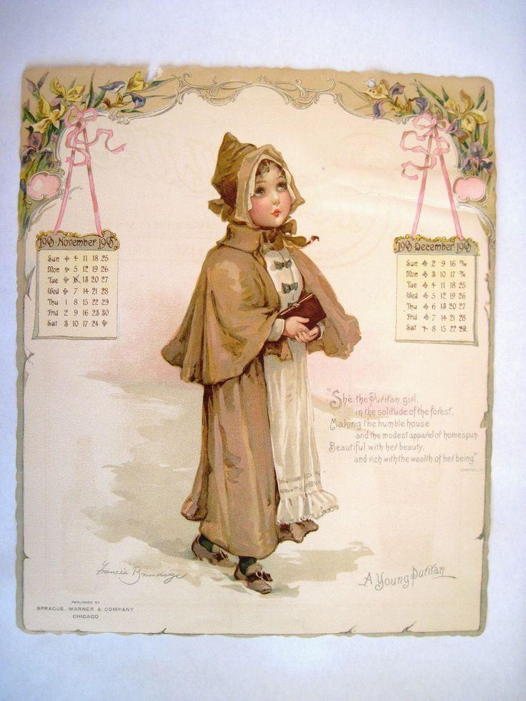 Frances Brundage Calendar Nov Dec