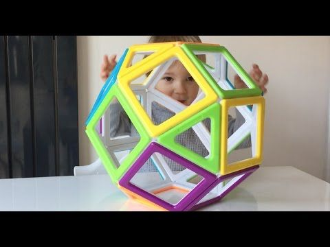 Magnetic Toys: Exploring Geometry With Mega Mag By Polydron