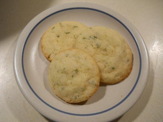 Lemon Verbena Sugar Cookies  http://www.motherearthliving.com/in-the-garden/herbal-harvest-3-lemon-verbena-recipes.aspx