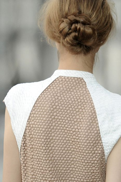 back action: Fashion, Hairstyles, Braided Buns, Holidays Hair, Hair Style, Braids Buns, Peter Pilotto, Back Details, Low Buns