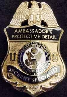 U.S. Embassy Baghdad Iraq Ambassador Security Specialist