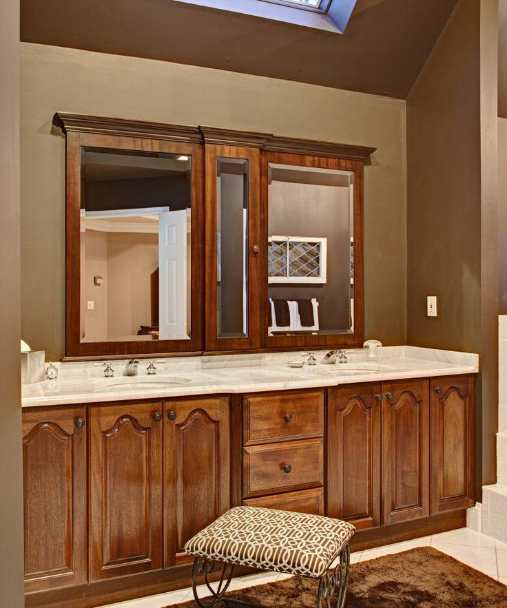 Updated master bathroom master bath pinterest for Updated master bathrooms